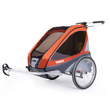 Chariot Thule Corsair 2 2 Kids Baby Bike Tailer APRICOT includes Bike Kit