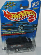Virtual Collection Cars - RECYCLING TRUCK - darkblue - 1:64 Hot Wheels 143/2000