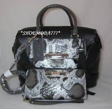 GUESS Spotlight Bag Purse Box Satchel Wallet Wristlet Tassel Heart Charm Snake