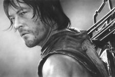 "The Walking Dead Daryl Dixon 8x12"" Toile Impression artistique"