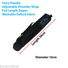 58 x 10cm Fishing Rod Carry Storage BAG Protective Case, Accessory Bag Washable
