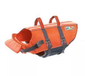 Outward Hound Dog Life Jacket (Small 15-30 lbs) Orange - Brand New