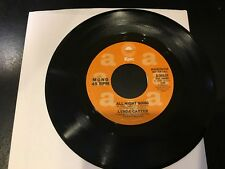 RARE PROMO 45 Lynda Carter - All Night Song  (Mono & Stereo)  EPIC  NM