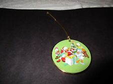 'Tis The Season Grolier Disney Ornament Celebrating Donald Duck Collectible
