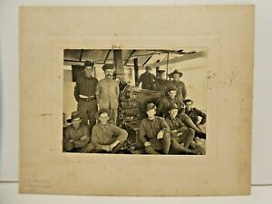 WW1 ARMY SOLDIERS PHOTOGRAPH PORTRAIT STAMPED SA MAYOR 39 MORRAH ST PARKVILLE