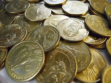 Grab Lot Real U.S. $100 in Circulated Gold Presidential Dollar Coins 2007-2011 D