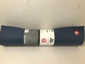 "Manduka PRO Yoga and Pilates Mat, Odyssey blue ,26"" X 71"" X6mm"