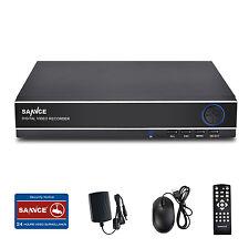 SANNCE 8CH 960H DVR H.264 Video Recorder CCTV Home Surveillance Security Systems
