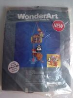 Wonderart Plastic Canvas Mobile Kit Baby Infant Circus Mobile Needlecraft