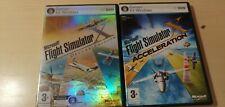 Microsoft Flight Simulator Deluxe Edition + Accelerator PC NOT the 2020 version