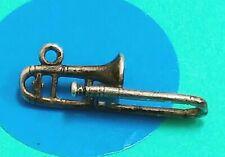 Charm C98 Trombone Sterling Silver Vintage Bracelet