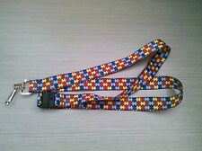 Autism Awareness Jewellery, Autism Ribbon lanyard, Autism, Aspergers, DMDD,