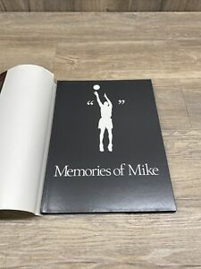 Michael Jordan Book Memories of Mike  Hardcover AMAZING THE BEST PICTURES ACTION