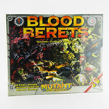 Blood Berets Warzone Mutant Chronicles 28mm Battle WarGame NEW