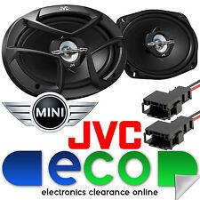 BMW Mini One R50 R53 JVC Harmon Kardon 3 Way 6x9 800 Watts Rear Car Speaker Kit