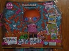 LALALOOPSY SILLY HAIR SPECS READS A LOT DOLL!