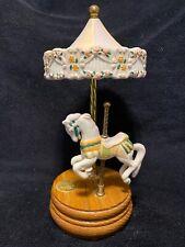 Willitts Designs Group Ii Porcelain Carousel Horse Music Box, Firing No. 2507