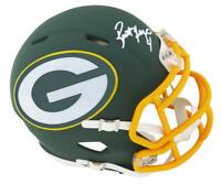Brett Favre Signed Packers AMP Alternate Series Riddell Mini Helmet - FAVRE Holo