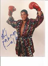 Hector Macho hand signed in person 8x10