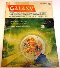 Galaxy Magazine – US digest – Vol.23 No.1 – October 1964 - Dickson, Herbert