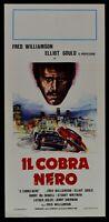 Plakat Die Cobra Schwarz Fred Williamson Gould Whitman Blaxploitation L18