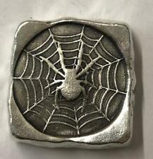 "3 тройских унций MK BarZ"", ""Spider Web кусок штамп квадратная"