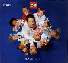 Prospekt Katalog Lego 1-6 2001 Spielzeugkatalog Spielzeug Broschüre brochure