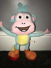 "14"" Dora The Explorer BOOTS monkey Plush Soft Toy Cuddly Teddy Bear"