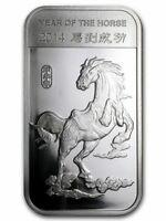 2014 Lunar Year of the Horse Mint Sealed 1/2 oz. Fine Silver Bar!!