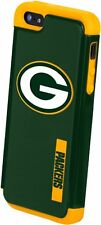 For iPhone 5 / 5s and SE Green Bay Packers Dual Hybrid 2 Piece Protective Case