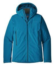 $399NWT Patagonia Mens Galvanized Jacket BRANDNEW Small S H2NO Proof Balkan Blue