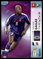 Panini GOAAAL! World Cup 2006 - France Gallas No.31