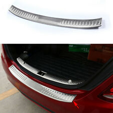 Stainless Rear Bumper Protector Plate Cover For Mercedes Benz C Class W205 15-17