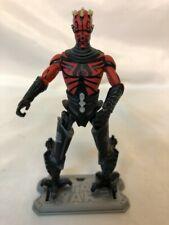 Star Wars The Clone Wars Darth Maul Figure With Stand Cyborg Legs