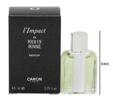 CARON L'IMPACT DE POUR UN HOMME PARFUM 4.5 ML/0.15 FL.OZ. MINIATURE