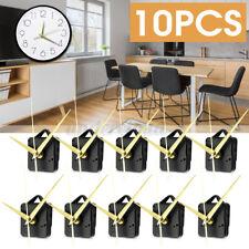 10x Wall Quartz Clock Long Spindle Hand Mechanism Movement Repair Home DIY
