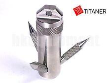 TITANER Titanium Grappling Hook Capsule Container Box Case TC4 Ti S
