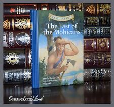 The Last of the Mohicans by James Fenimore New Illustrated Collectible Hardcover