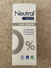 Brand new unopened in box - Neutral 0% Day Cream for sensitive skin. 50ml