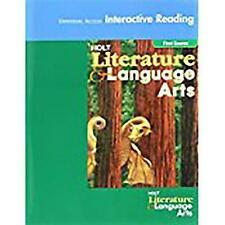 USED (GD) Holt Literature and Language Arts by RINEHART AND WINSTON HOLT