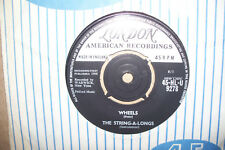 THE STRING-A-LONGS,  WHEELS,  LONDON RECORDS 1960  EX+