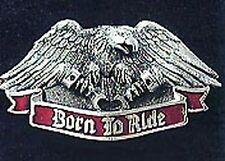 BORN TO RIDE BELT BUCKLE BIKER BUCKLES