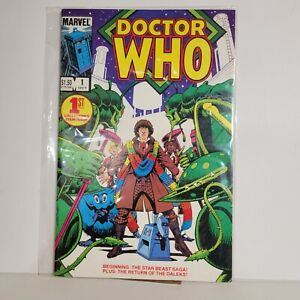 Doctor Who 1984 #1 Marvel Comics High Grade! Looks unread Combine Shipping