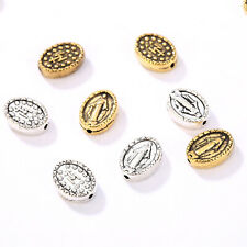 10/20Pcs Alloy Loose Spacer Beads Religious Faith Beauty Jesus Figure Bead Charm