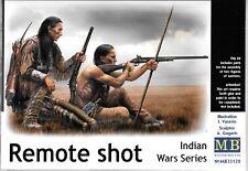 BL  Master Box Indian Wars, Remote Shot, 2 Figures in 1/35 128 ST