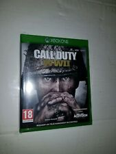 Jeux Xbox  one CALL OF DUTY - WW II - Neuf sous blister