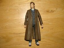 """Dr Who Tenth Doctor Long Coat Blue Suit Red Shoes - 5.5"""""""