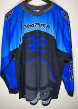 Empire Paintball Professional Lightweight Jersey OG USA Made Blue Black Mens 2XL