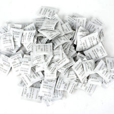 100 Packs 1g Non Toxic Silica Gel Desiccant Moisture Damp Absorber Dehumidifier