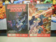 GUARDIANS 3000 # 1-4  (2014-2015)